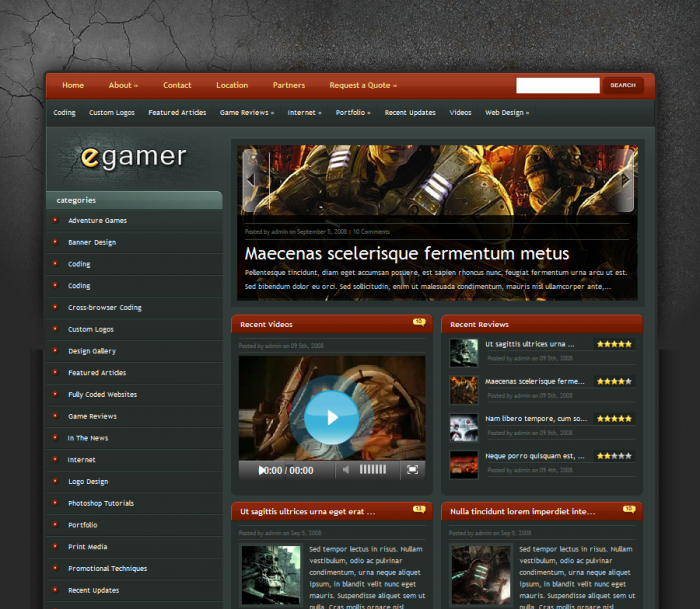 Egamer Theme - Software Website Egamer For A Very Low Price.. See  813 View - trang 1