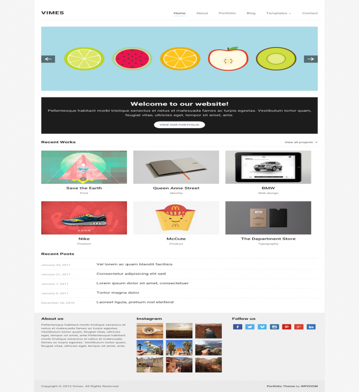 Vimes Is A Simple & Elegant Theme For Wordpress. See  598 View - trang 1