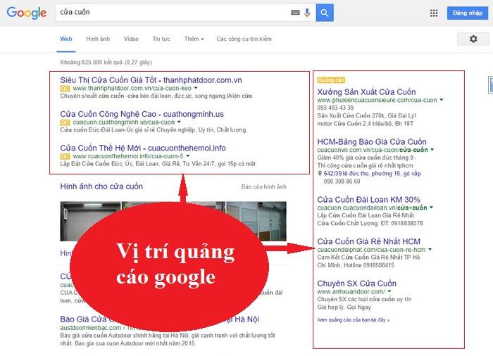 Google Adwords . Có 4051 Xem  - trang 1