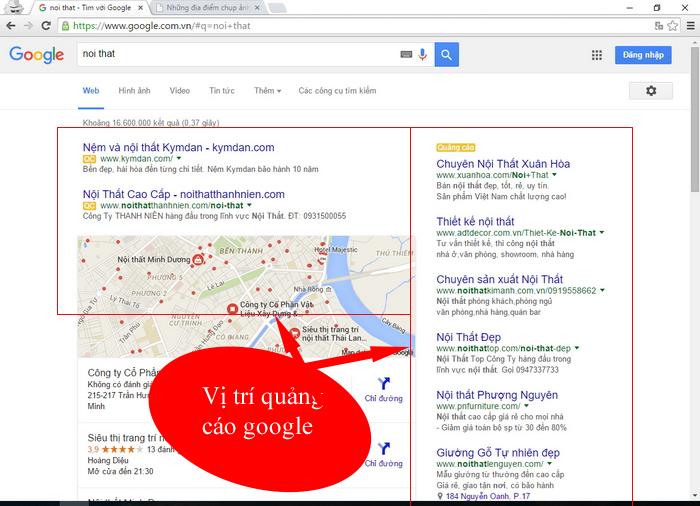B. Quảng Cáo Google Giá Rẻ > Xây Dựng Thương Kết Hợp Bán Hàng. Có 2885 Xem  - trang 1